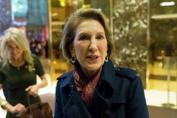 """Carly Fiorina says  sexual harassment  """"goes on a lot."""""""