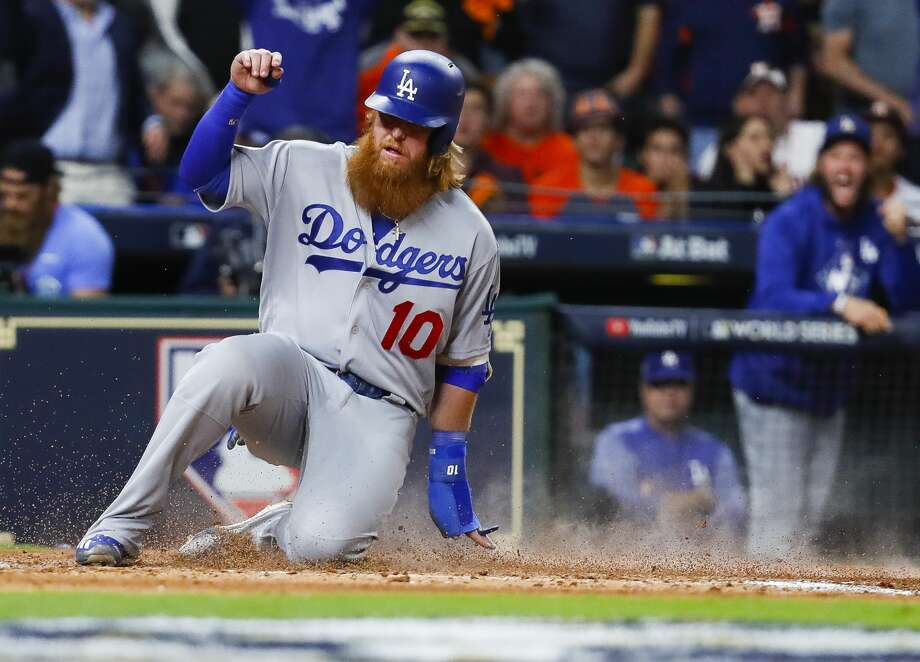 new style ff620 cb859 Dodgers tap Justin Turner to DH in Game 5 - San Antonio ...
