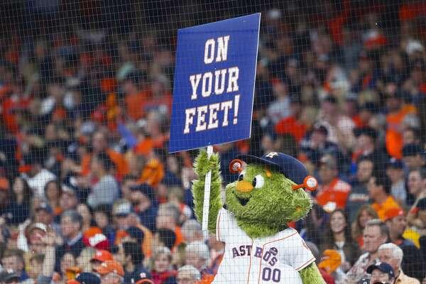 Astros Mascot >> Houston Astros Mascot Orbit Is Hiring A Part Time Assistant