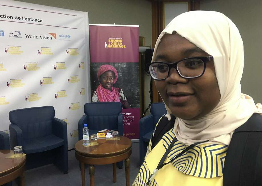 Musu Bakoto Sawo, who married at 14 in Gambia, advocates for greater educational opportunities. Photo: Carley Petesch, Associated Press
