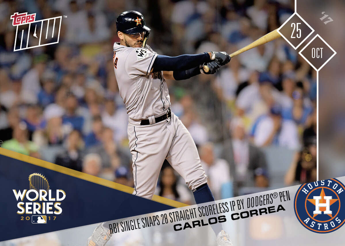 Topps is in its second season producing Topps Now, a daily cardboard photo gallery of the season's highlights. Employees confer daily to determine which moments are worth commemorating, and their choices are composed and sent to the printer the next day.