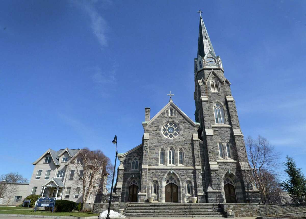 St Mary's Roman Catholic Church on West Avenue in Norwalk.