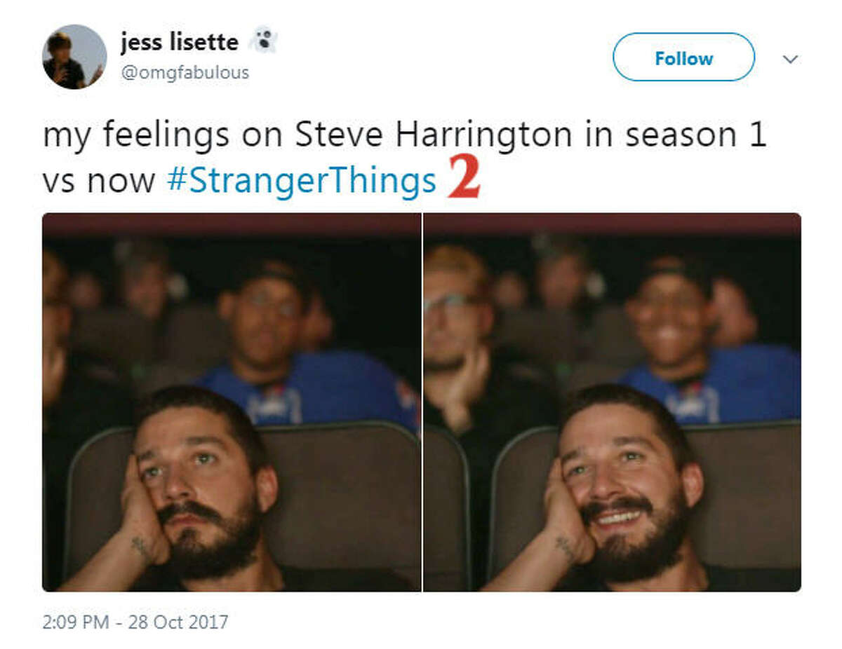 """Fans share their reactions to the premier of 'Stranger Things 2"""" on social media. Photo: Twitter"""