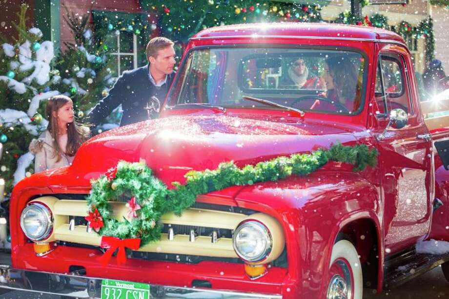 """""""Christmas in Evergreen"""" The Christmas in Evergreen series continues with Christmas In Evergreen-Letters to Santa and Christmas in Evergreen-Tidings of Joy airing as part of Hallmark's Christmas in July 2020 programming. Photo: Hallmark Channel"""