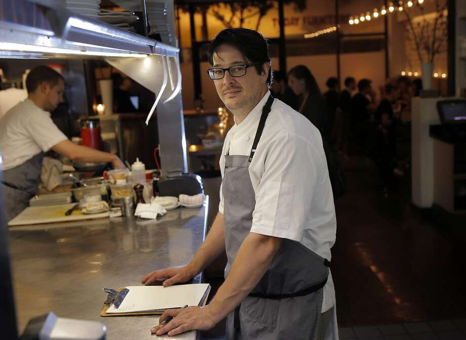 Chef Jason Fox at his Commonwealth. Photo: Carlos Avila Gonzalez, The Chronicle