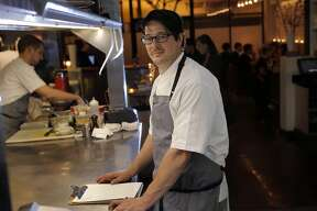 Chef Jason Fox at his restaurant Commonwealth in San Francisco, Calif., on Wednesday, May 21, 2014.