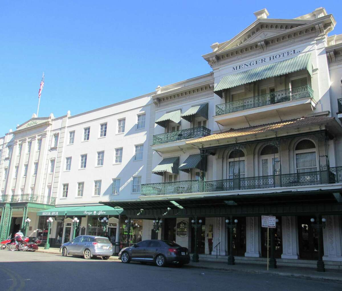 Open since 1859, the Menger Hotel is perhaps the most famously haunted place in San Antonio, with no fewer than 32 known spirits.
