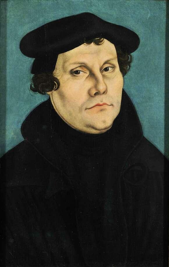 A portrait of Martin Luther by Lucas Cranach the Elder. Photo: Courtesy Photo / http://gallerix.ru