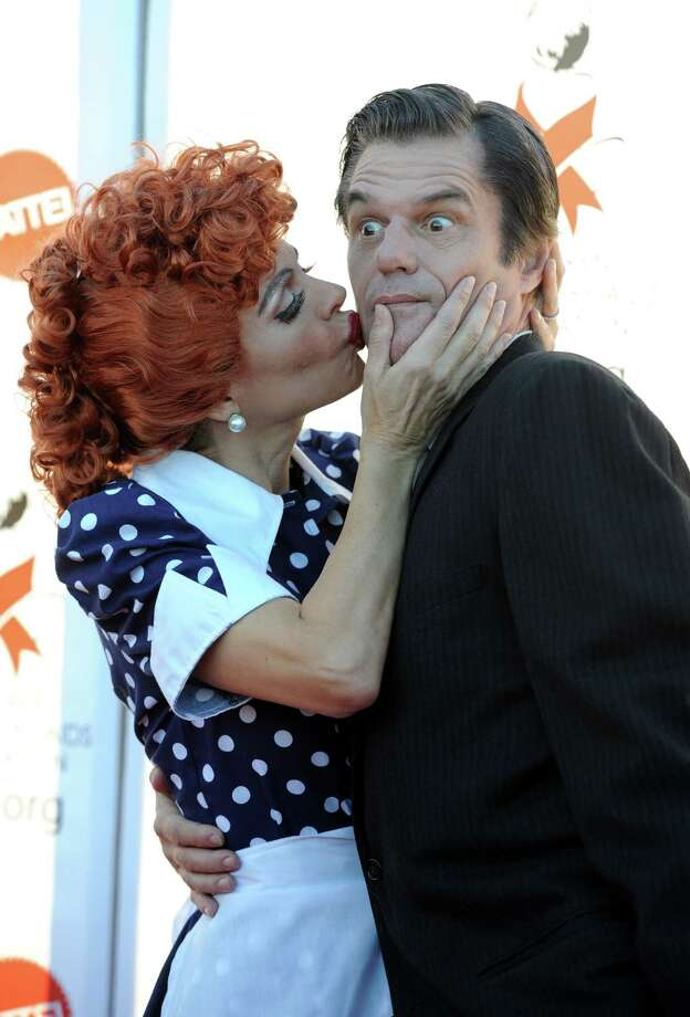 Actress Lisa Rinna and husband actor Harry Hamlin Photo: Frazer Harrison, Staff / 2010 Getty Images