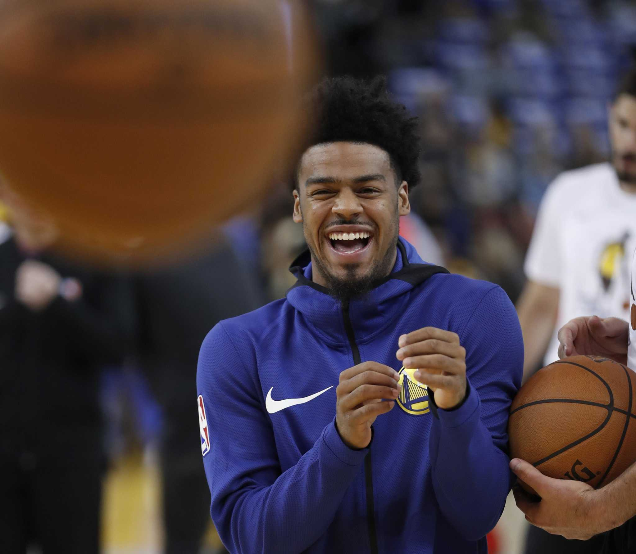 10eb65be2e5 Quinn Cook reunites with 'big brother' Kevin Durant on Warriors ...