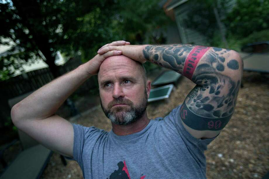 Former Navy SEAL James Hatch has had eight years to think about the nighttime raid to rescue Sgt. Bowe Bergdahl. Hatch was shot by insurgents during the raid, ending his career as a commando. Photo: Bill Tiernan, MBI / ©2013 The Virginian-Pilot
