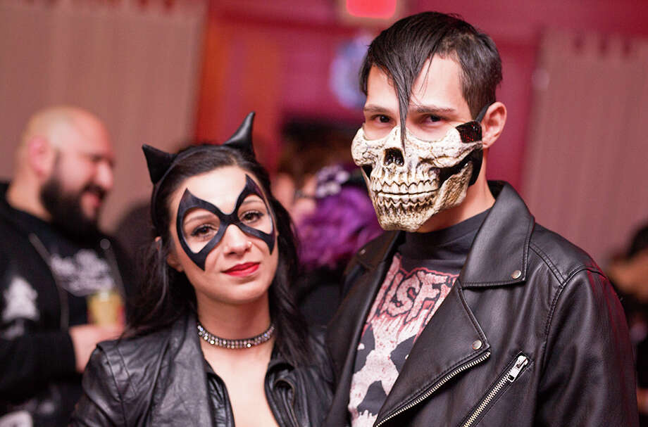 Attendees of the Rockula Horror Expo crept out of their convention grounds at the Wyndham San Antonio Riverwalk for a night of hard tunes, cocktails and dancing at The Korova Friday night, Oct. 27, 2017. Photo: B. Kay Richter For MySA