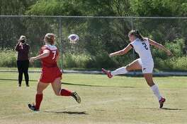 Cio Bargallo led the region with 17 goals and broke her own school records of 67 shots and 38 shots on goal.