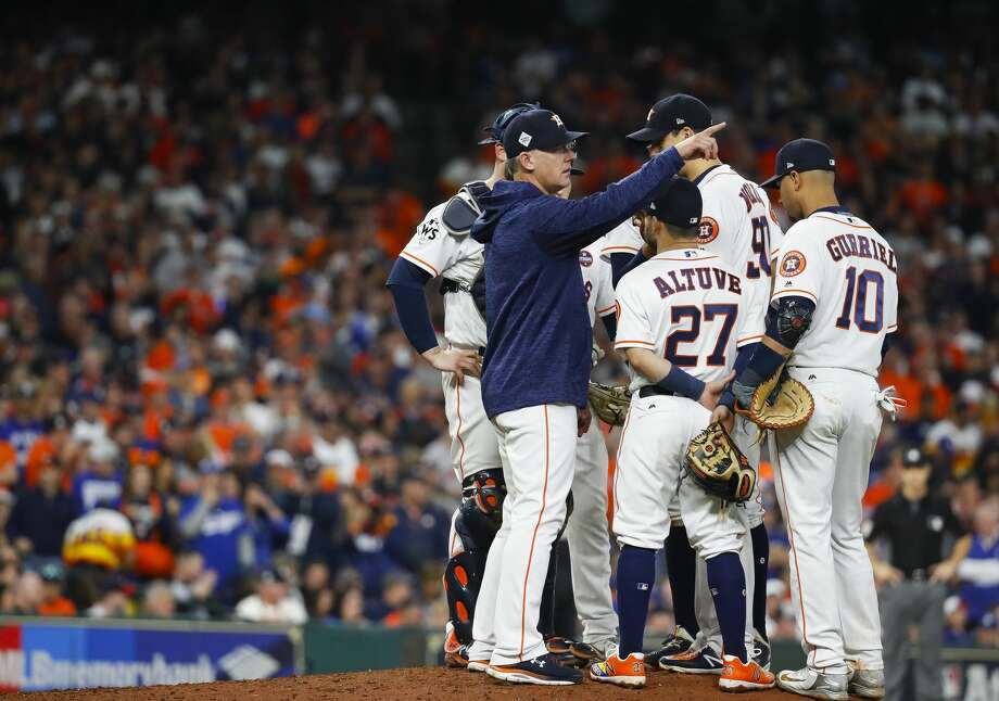 PHOTOS: How the Astros' bullpen looks as of todayThe Astros have added a few pieces to the bullpen this offseason, which will make things look considerably different in 2018.Browse through the photos above for a look at what the Astros' bullpen could look like next season. Photo: Karen Warren/Houston Chronicle