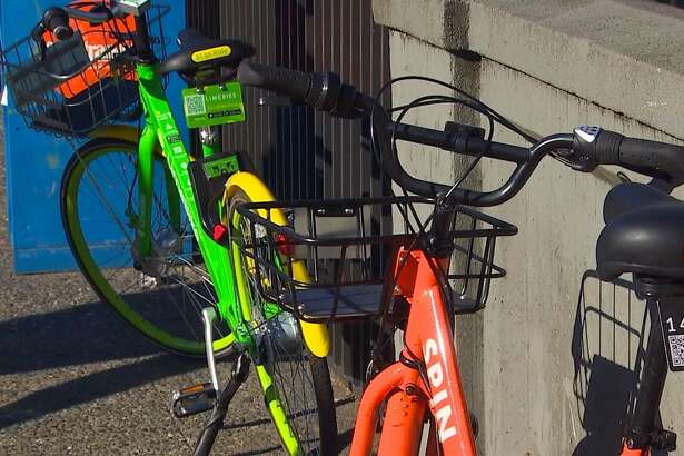 There are potentially 6,000 orange, green and yellow bike shares on the streets of Seattle right now. Many are left stolen, vandalized.