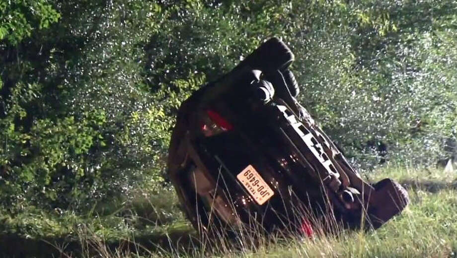 One teen is dead after a rollover wreck. Photo: Metro Video