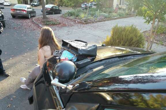 Santa Rosa police arrested two suspected looters in the city's fire damaged neighborhoods on Saturday.