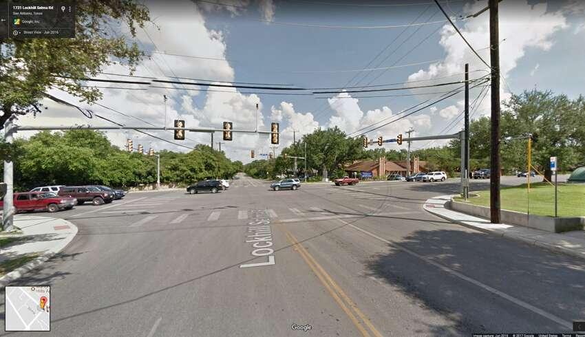 22. Lockhill-Selma Road at West Avenue: 26 wrecks