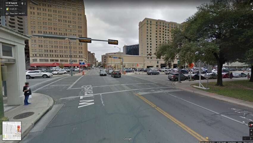 23. Main Avenue at Travis Street: 26 wrecks