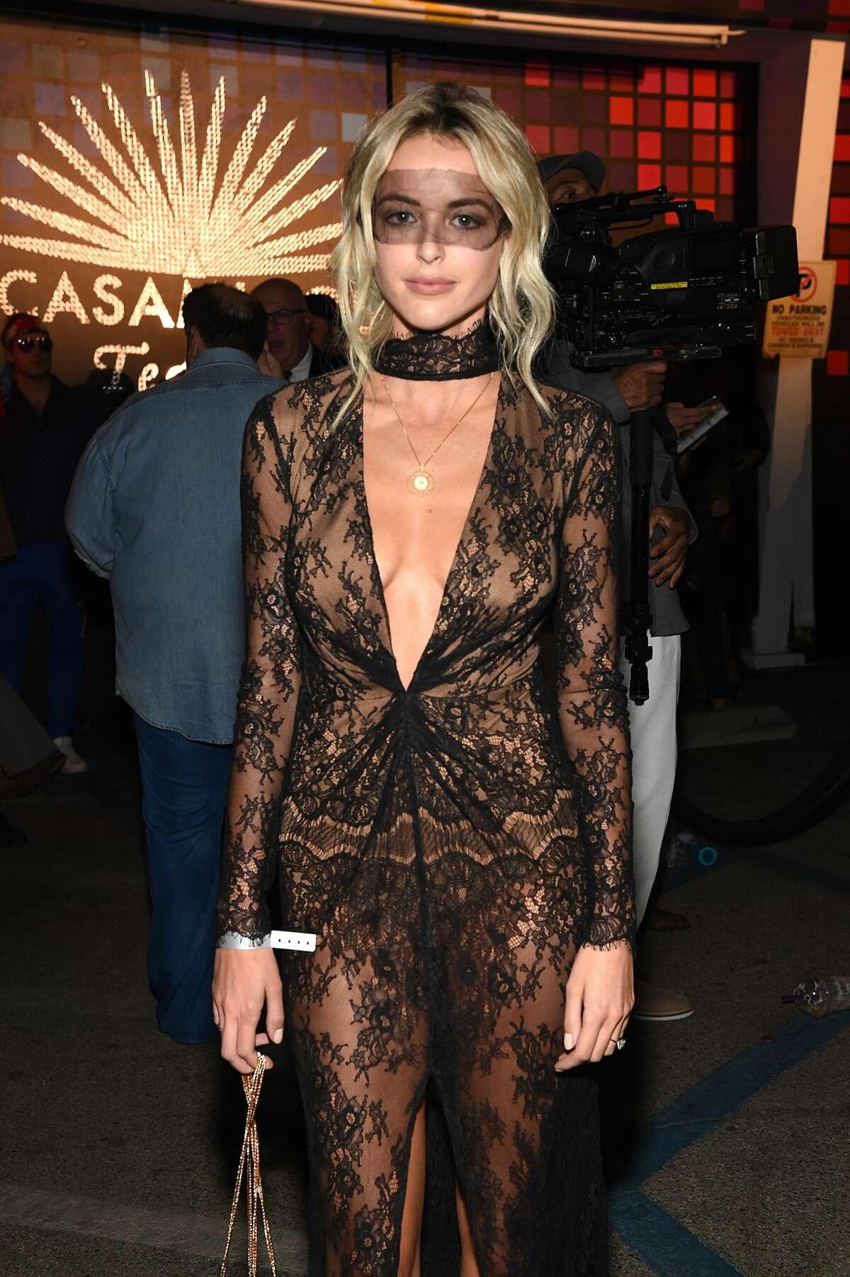 Kaitlynn Carter attends Casamigos Halloween Party on October 27, 2017 in Los Angeles, California.