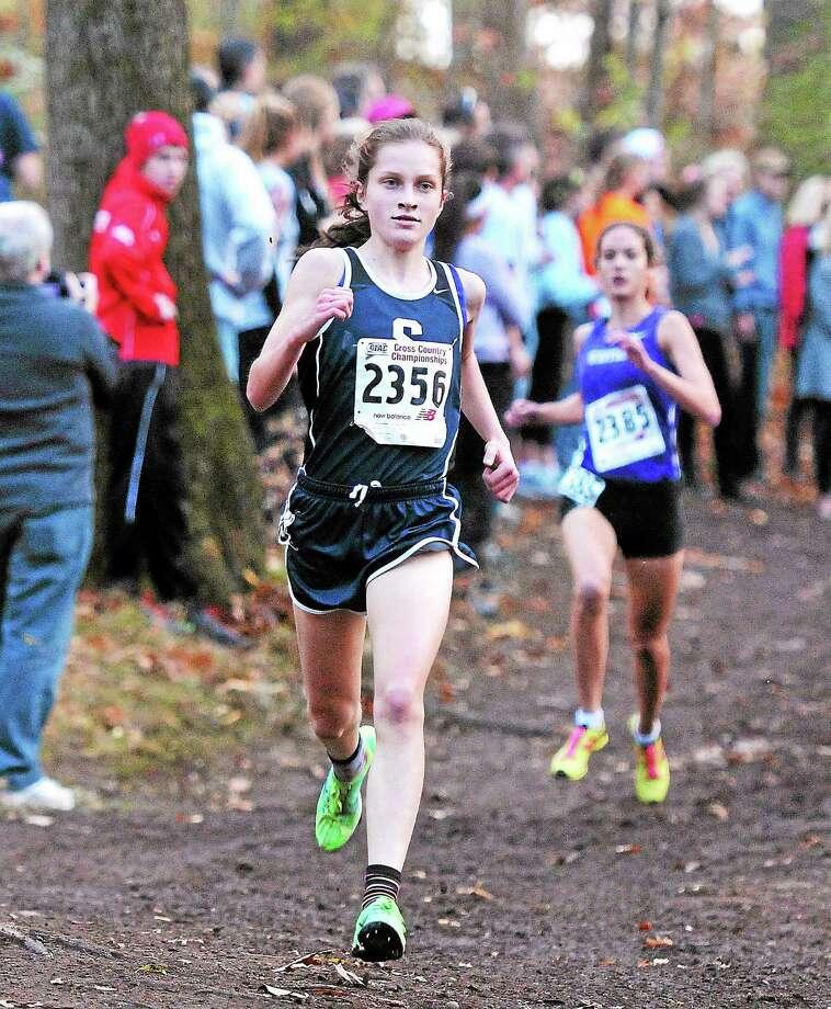 Hannah Debalsi, Staples  Photo: Hearst Connecticut Media File Photo