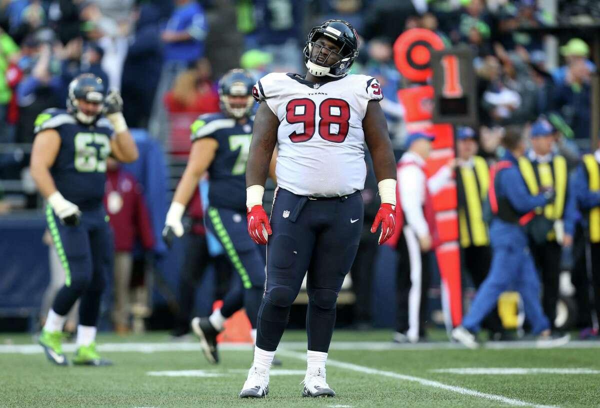 Texans' D.J. Reader has sprained knee, won't need surgery