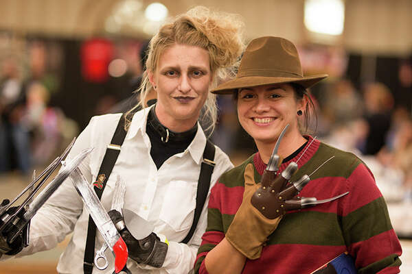 Fans went look for spooky fun during Rockula Horror Expo's debut con this weekend in San Antonio.
