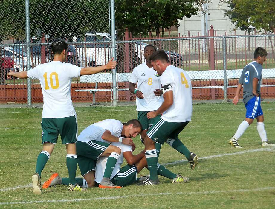 Laredo Community College's soccer team edged No. 18 San Jacinto 2-1 in a Region XIV final on Saturday night in Houston. The Palominos advance to the South Conference semifinals, which is the further than any LCC soccer team has ever advance. Photo: Cuate Santos /Laredo Morning Times File / Laredo Morning Times