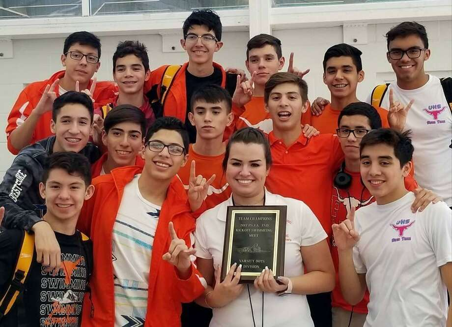 United's swim team won first place at the Pharr Kickoff Invitational over the weekend. Photo: Courtesy Photo