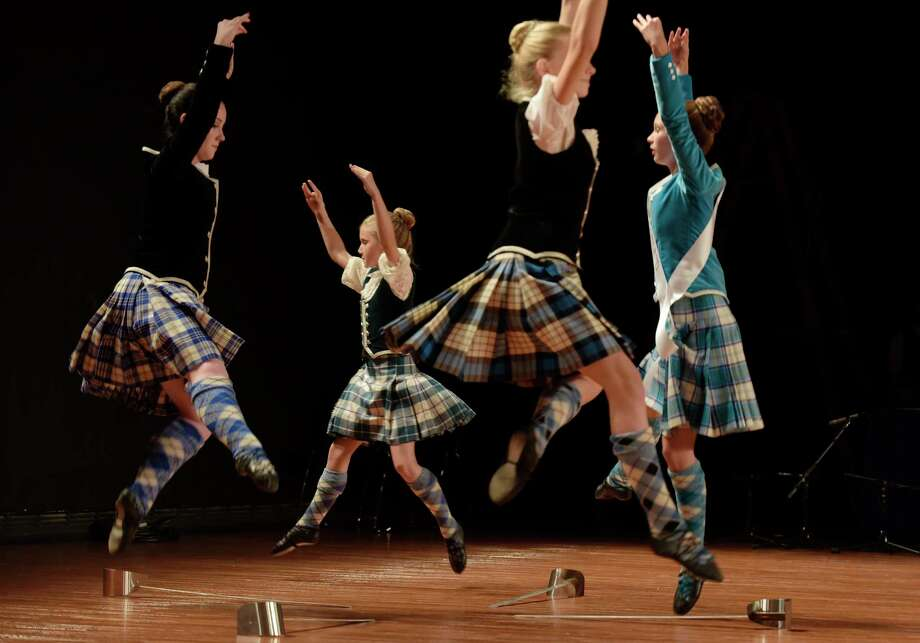 Members of the Braemar Highland Dancers, representing Scotland, perform at the annual Festival of Nations at the Empire State Plaza Convention Center on Sunday, Oct. 29, 2017, in Albany, N.Y. Photo: PAUL BUCKOWSKI / 20041954A
