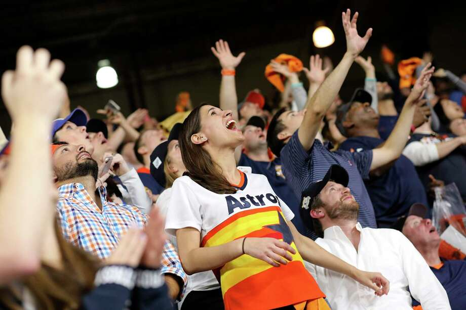 A new study examines the different interest of Astros and Dodgers fans using mobile phone location data.See how Astros and Dodgers fans differ in brand preference. Photo: Elizabeth Conley, Houston Chronicle / © 2017 Houston Chronicle