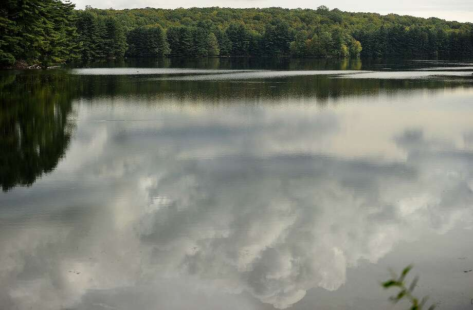 Aquarion Water's Aspetuck Reservoir in Easton, Conn. in September 2016. On Oct. 27, 2017, the Connecticut Public Utilities Regulatory Authority approved the $1.7 billion sale of Bridgeport-based Aquarion to Eversource Energy. Photo: Brian A. Pounds / Hearst Connecticut Media / Connecticut Post
