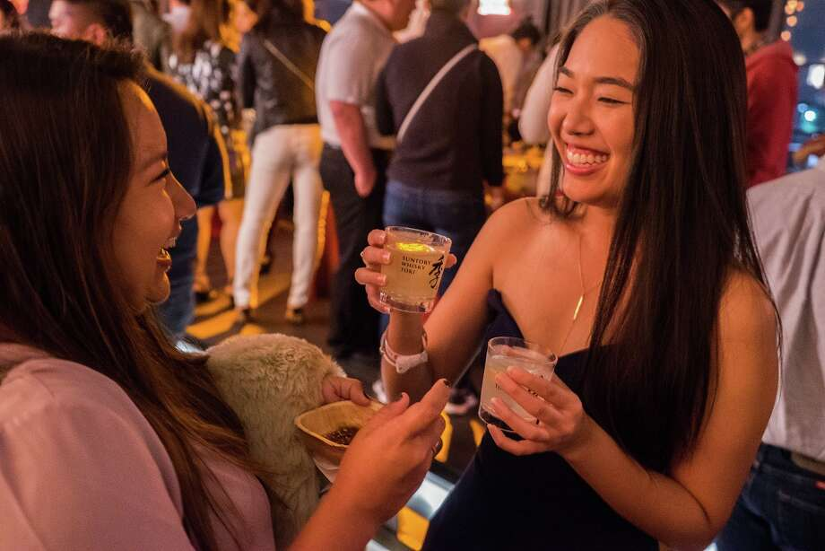 Scenes from 2017 Luckyrice festival held Oct. 27 at the Astorian. Suntory Whisky Toki was a major sponsor. Photo: Rick Williams