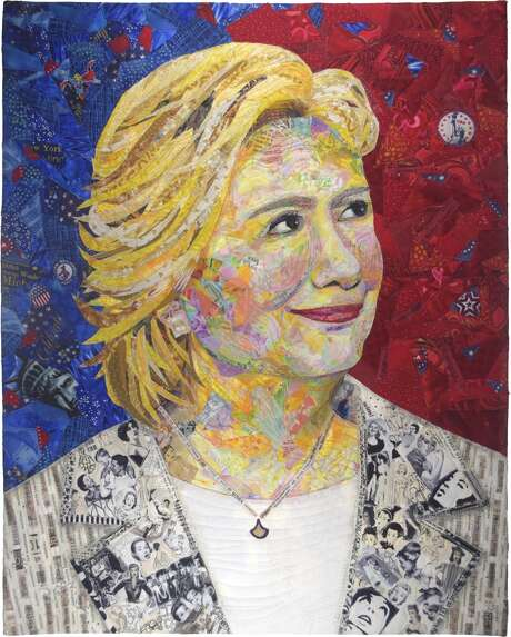 """""""Hillary Rodham Clinton,"""" by Margaret Williams,  honoring Hillary Rodham Clinton, the the former first lady, U.S. Senator, U.S. Secretary of State and Democrat candidate for president of the United States."""