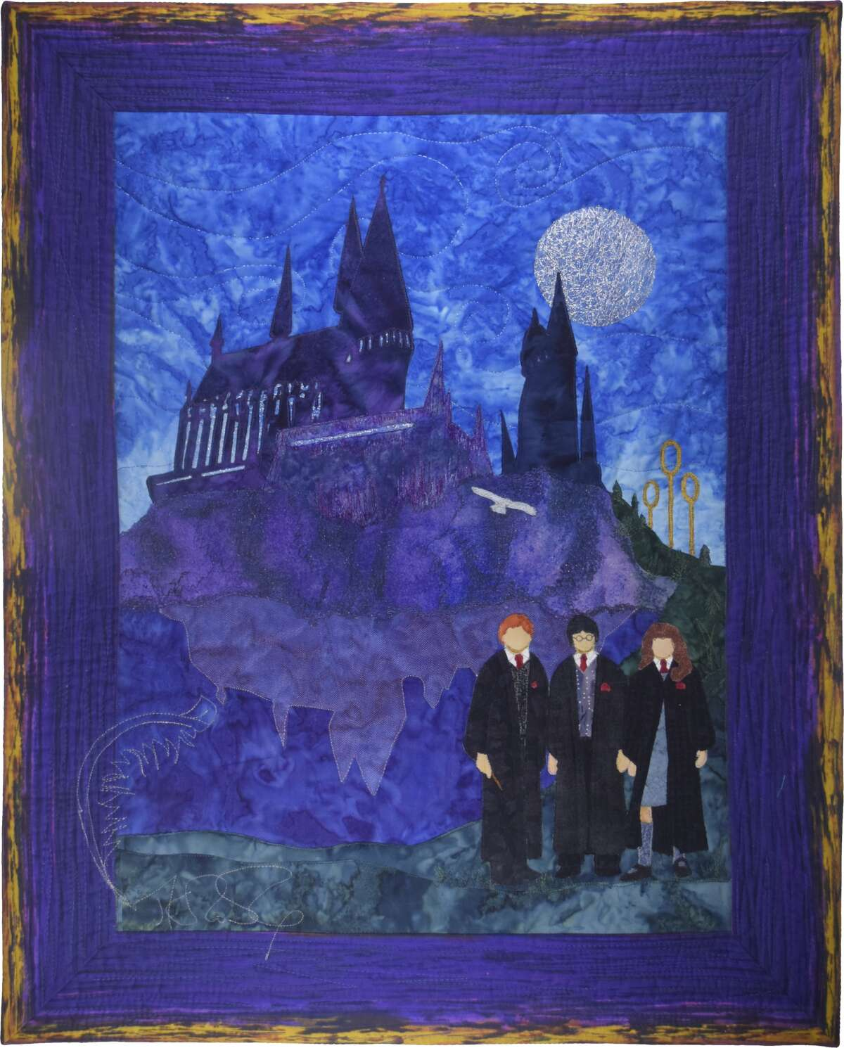 """""""The Brilliant Creation of JK Rowling,"""" by Rosanne Williamson honoring JK Rowling"""