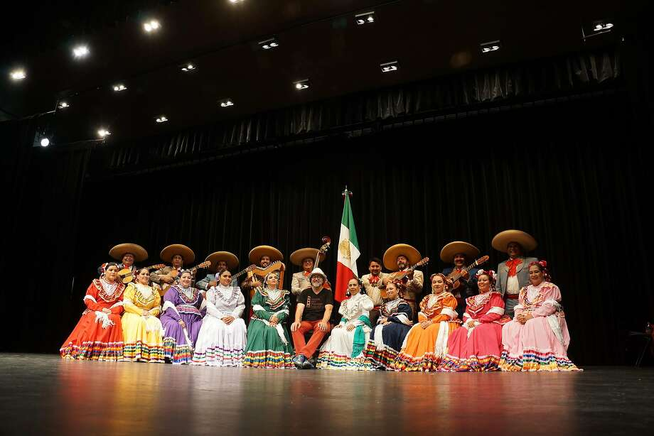 S.F. conductor Urs Leonhardt Steiner (center, in the white hat) will showcase Mexico's Coro Redes y Cantos de Chapala. Photo: Courtesy�Golden Gate Symphony & Chorus
