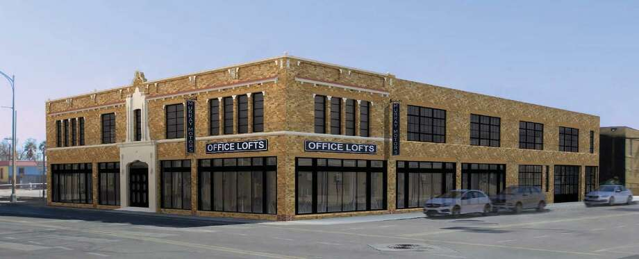 Local real estate firm Ridgemont Properties wants to rehabilitate a vacant building on Broadway downtown into office space geared toward startups. Photo: Historic And Design Review Commission Agenda