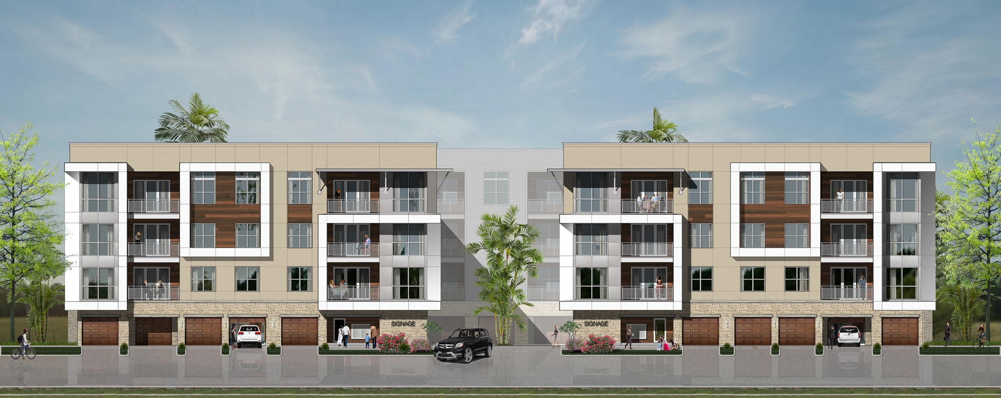 Hines enters san antonio apartment market with new project for Apartment complex designs
