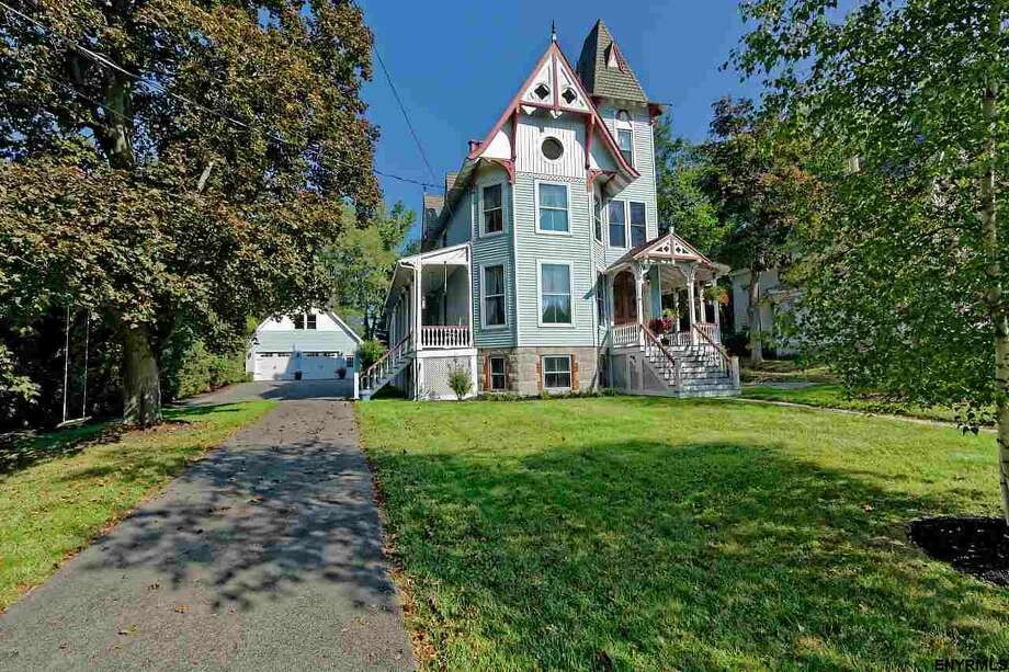 "$599,900. 1511 New Scotland Road, Slingerlands. 1876 Victorian known as the ""Ironweed House"" for its role in the movie based on William Kennedy's novel ""Ironweed."" See the listing. Photo: MLS"
