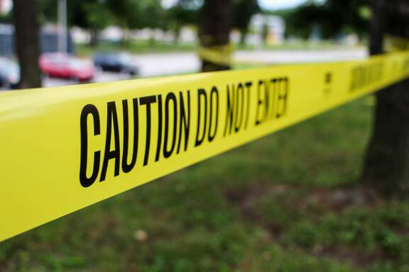 Police tape -getty