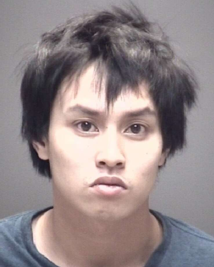 Salem Phan, 23, is charged with attempted aggravated robbery, unlawful possession of a firearm by a person involved in family violence, and unlawfully carrying a weapon in Galveston County after he allegedly planned to rob a Friendswood pharmacy on Oct. 28, 2017. Photo: Galveston County Jail