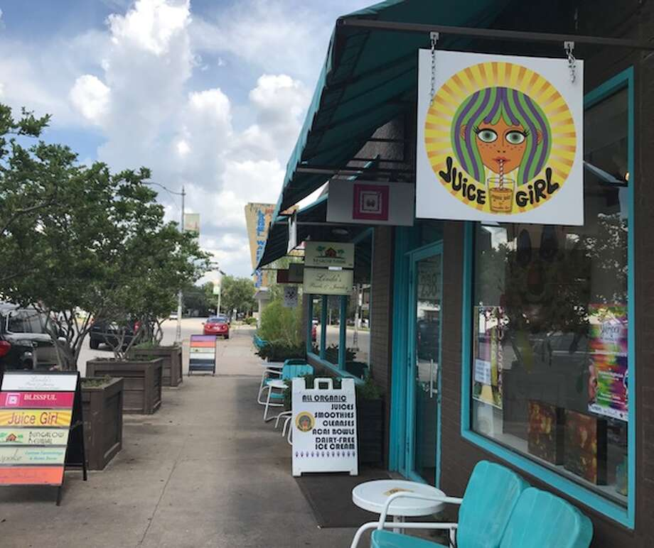 Gretchen Todd of Juice Girl on 19th Street has opened the first vegan ice cream shop in the Heights. Photo: Submitted Photo