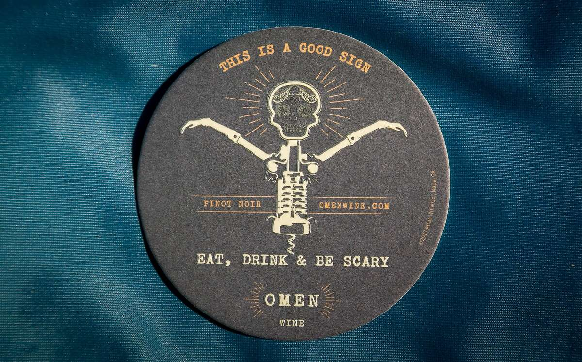 """Omen is meant to evoke the Gothic vibe popularized by """"the Prisoner and also that dark-spooky style popular with craft beer,"""" winemaker Alexandre Remy says."""