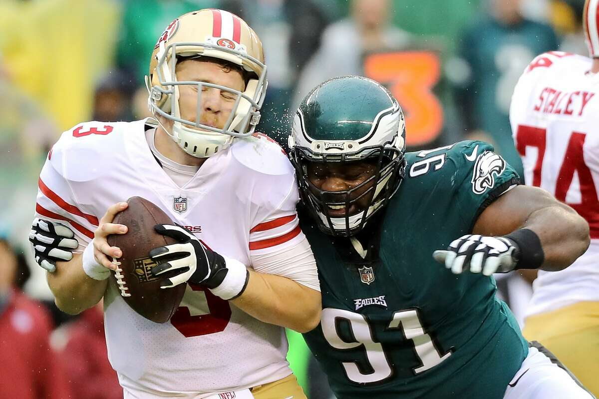 31. San Francisco 49ers (0-8)Previous: 31 C.J. Beathard took a hard beating against Philly, which hit the rookie quarterback 12 times. Good luck, Jimmy G.!