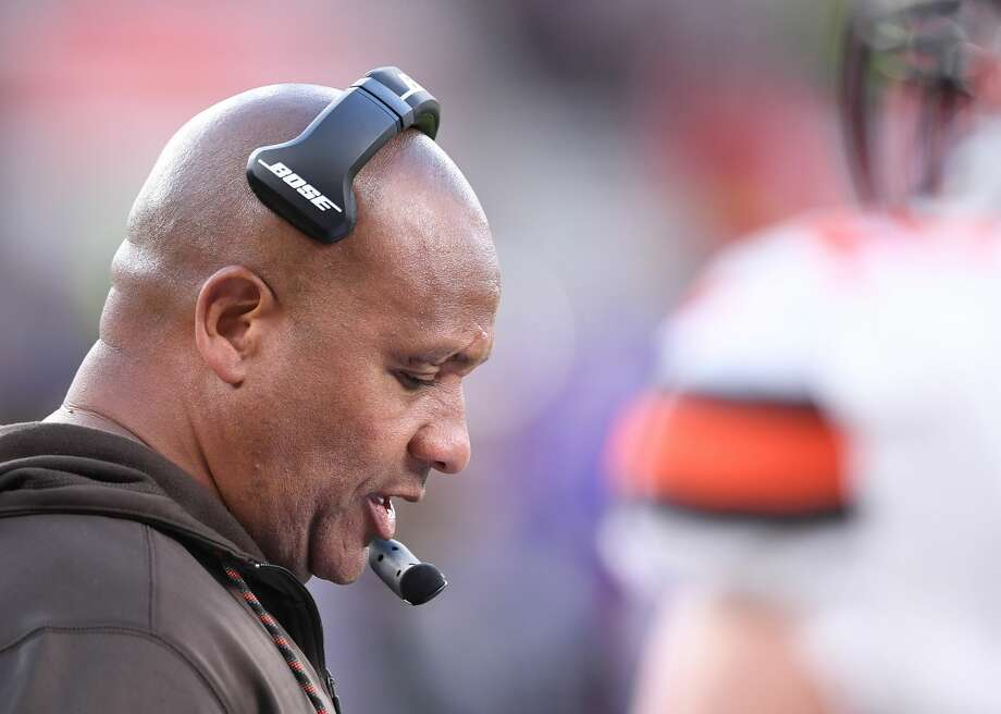 32. Cleveland Browns (0-8)Previous: 32Hue Jackson and the winless Browns couldn't find their winning ways across the pond in England. Photo: Simon West/Action Plus Via Getty Images