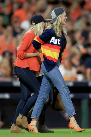 best service c3f3b d97c0 Nostalgic Astros sweater made famous by Kate Upton is back ...