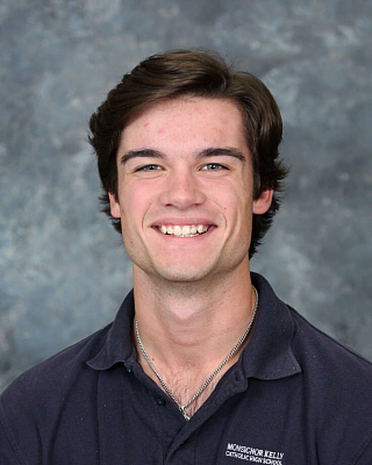 Kelly senior pitcher Thomas Burbank is part of the University of Texas' 2018 recruiting class. (Photo provided by Monsignor Kelly Catholic school district)