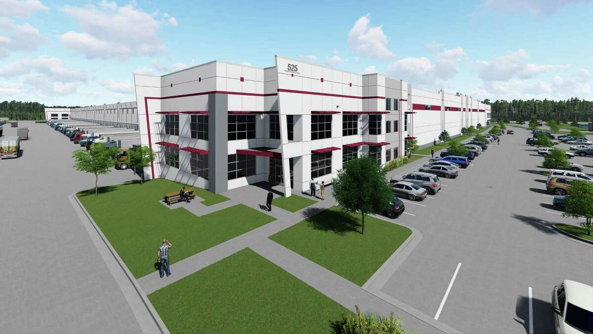 Oakmont Industrial Group is under construction on a nearly 700,000-square-foot spec warehouse in Katy.
