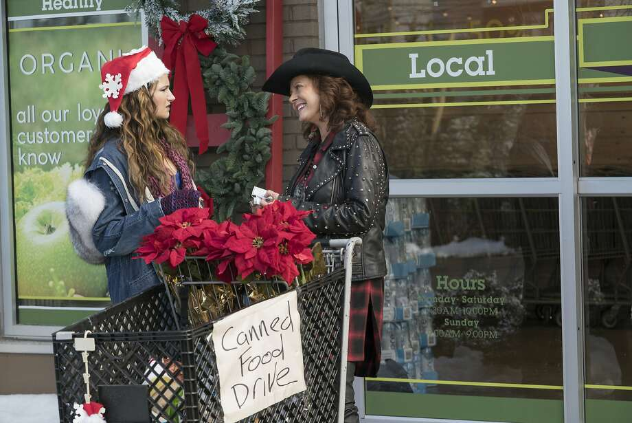"""This image released by STX Entertainment shows Kathryn Hahn, left, and Susan Sarandon in the film, """"A Bad Moms Christmas."""" (Hilary Bronwyn Gayle/STX Entertainment via AP) Photo: Hilary Bronwyn Gayle, Associated Press"""