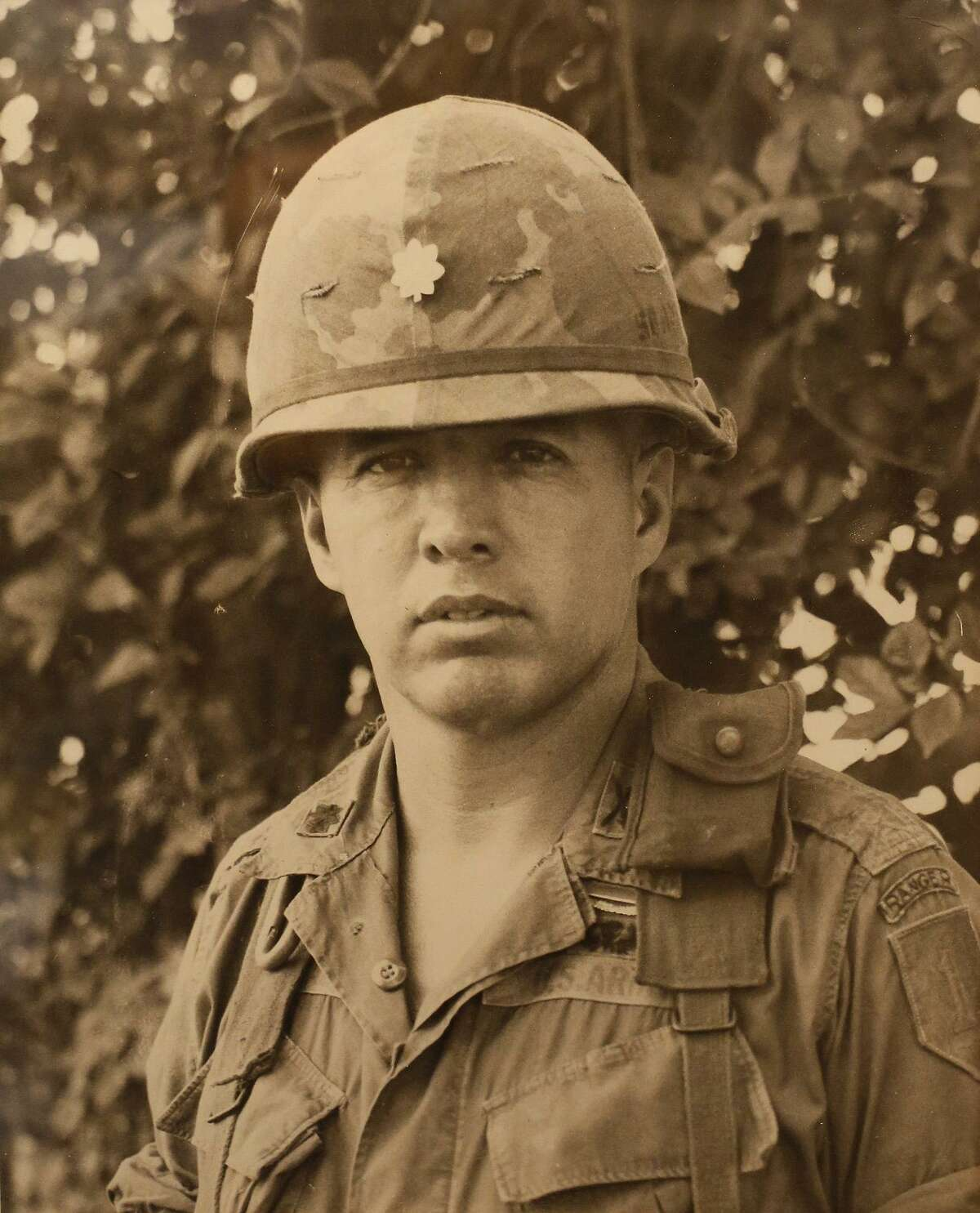 Army Gen. Richard Cavazos as a young officer in Vietnam.